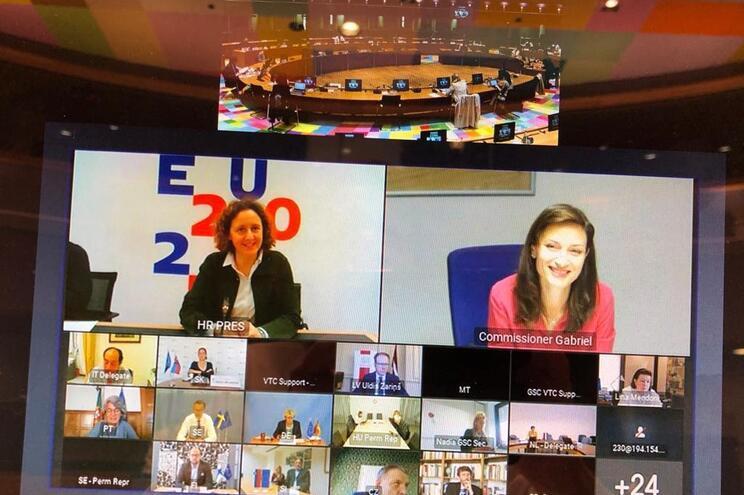 Comissária Mariya Gabriel reuniu-se com os ministros da Cultura europeus