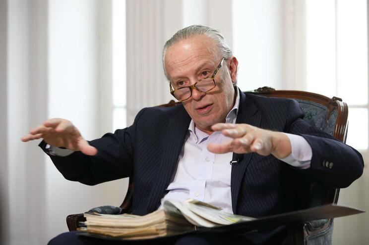 O presidente do Aliança, Pedro Santana Lopes