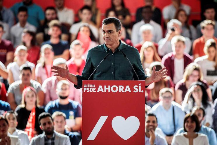 Pedro Sánchez, secretário-geral do PSOE