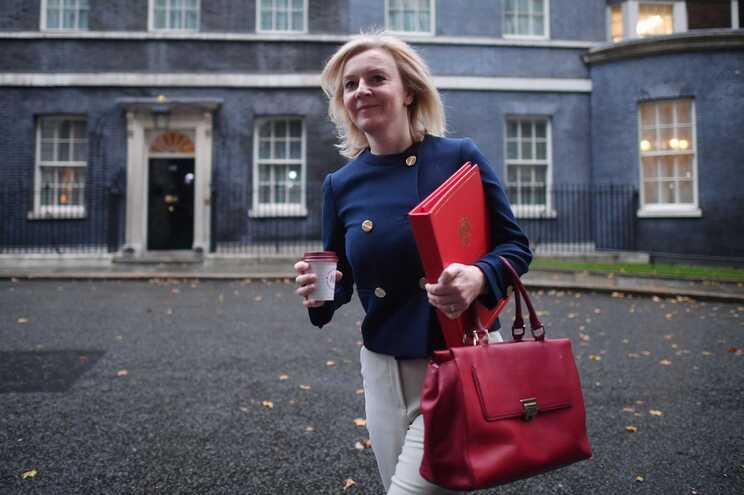 A ministra britânica do Comércio internacional, Liz Truss