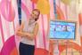 """Cristina Ferreira, em 2005, como apresentadora do programa """"Você na TV"""""""