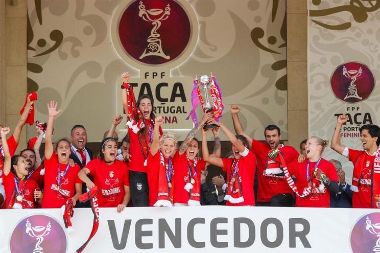 Benfica vence Taça de Portugal em jogo com recorde de assistência