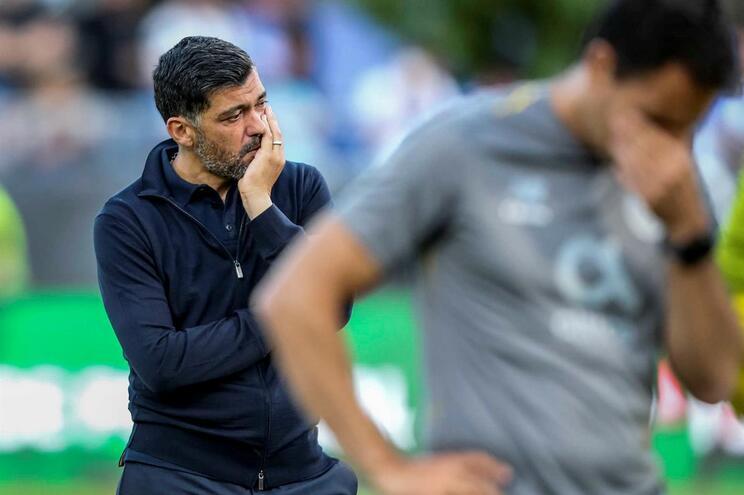 """Sérgio Conceição: """"Foi um jogo cruel e injusto"""""""
