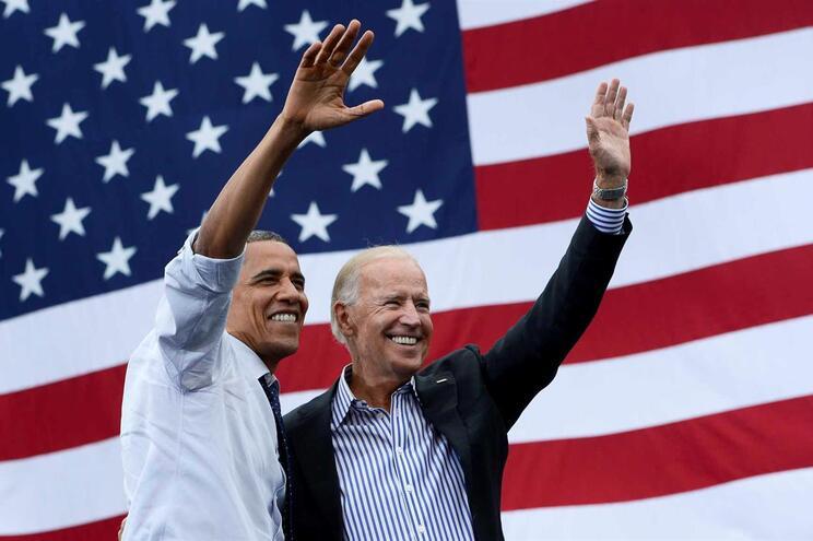 Obama e Biden tornaram-se amigos íntimos durante os dois mandatos em que ocuparam a Casa Branca