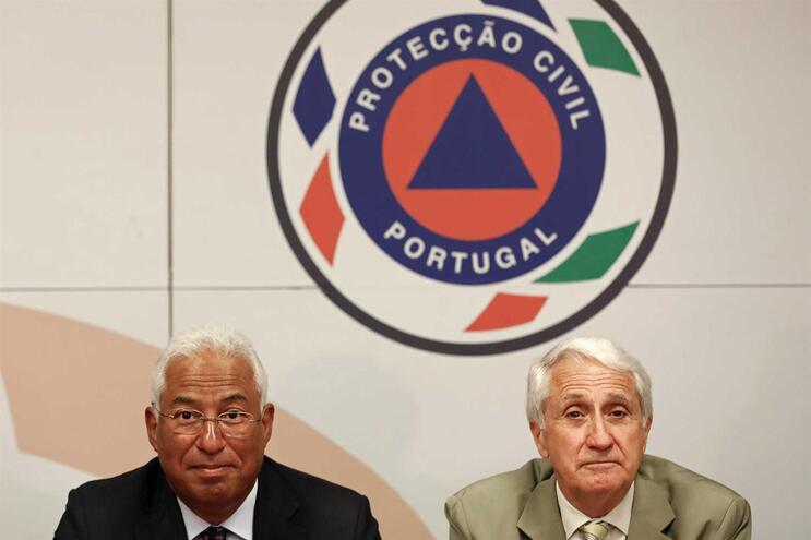 O presidente da Autoridade Nacional de Emergência e Proteção Civil (ANEPC), tenente-general Mourato Nunes