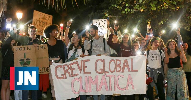 Vigília em Lisboa marcou início de semana em defesa do clima