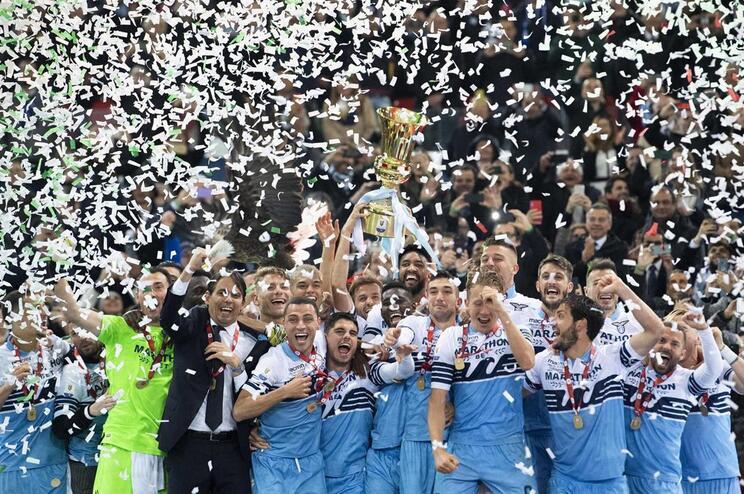 Lazio vence Atalanta e conquista sétima Taça de Itália