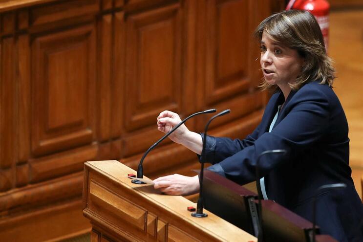 A líder do Bloco de Esquerda, Catarina Martins
