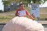 Abóbora algarvia com 696 quilos ganhou concurso em Paredes