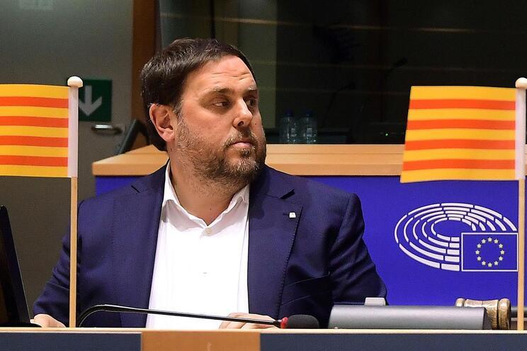 Supremo Tribunal espanhol retirou imunidade parlamentar a Oriol Junqueras
