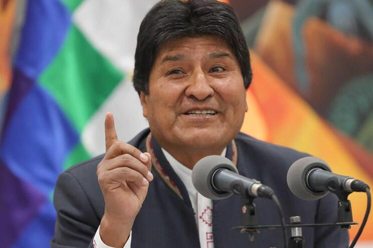 Evo Morales proclamou-se vencedor das eleições na Bolívia