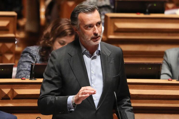 O deputado do Partido Iniciativa Liberal, João Cotrim de Figueiredo