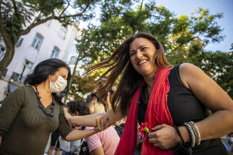 """Durante a campanha, Marisa Matias pretende """"ouvir e dar voz a gente sem medo"""""""