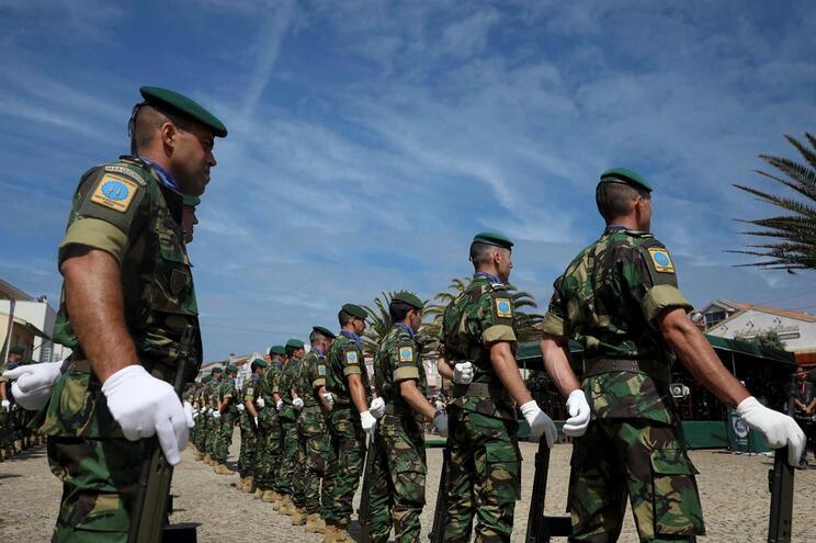 """""""Temos de preparar-nos para qualquer adversário"""", diz comando da NATO em Portugal"""