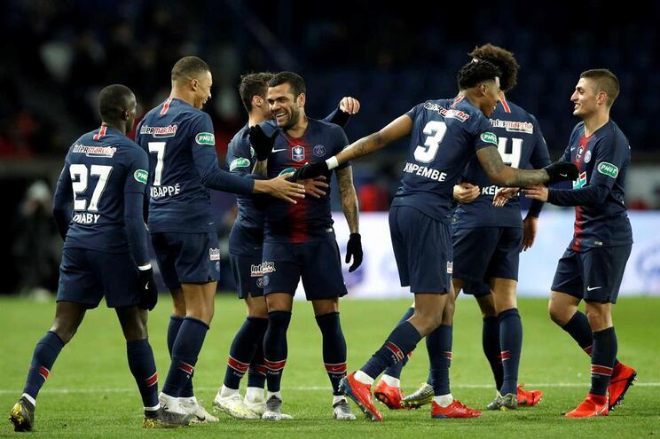 PSG vai atuar com símbolo de Notre Damme contra o Mónaco