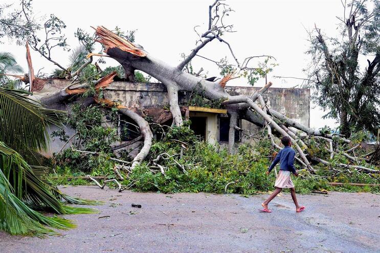 Mais 368 mil crianças em risco devido ao ciclone Kenneth em Moçambique