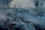 Nevoeiro e fumo impedem uso de meios aéreos em fogo ativo no Gerês desde sábado