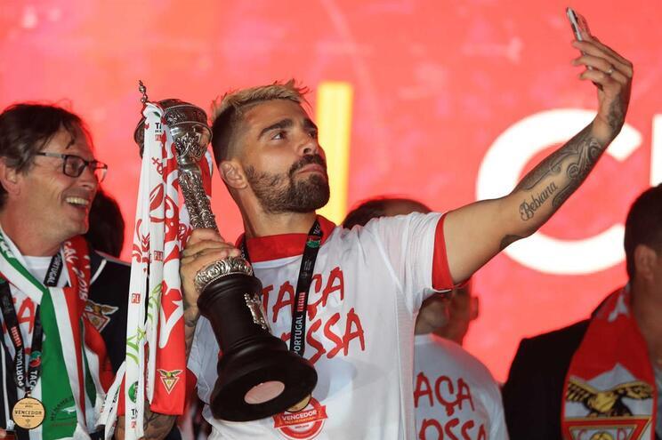 Paulo Machado festeja vitória da Taça de Portugal