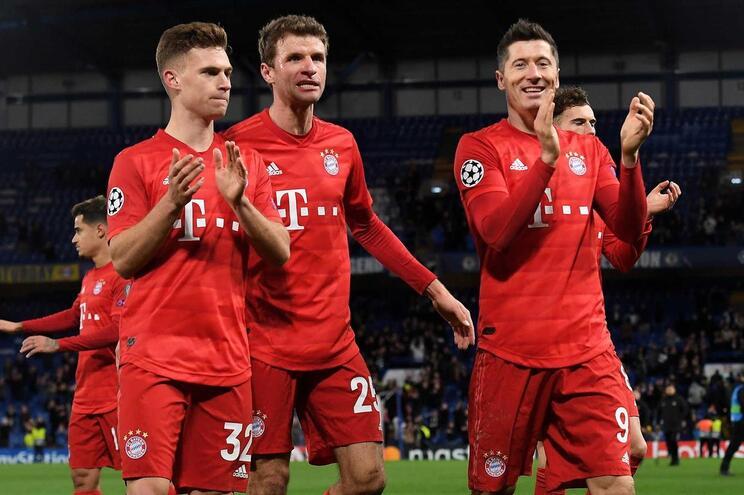 Bayern Munique já treinou em grupo