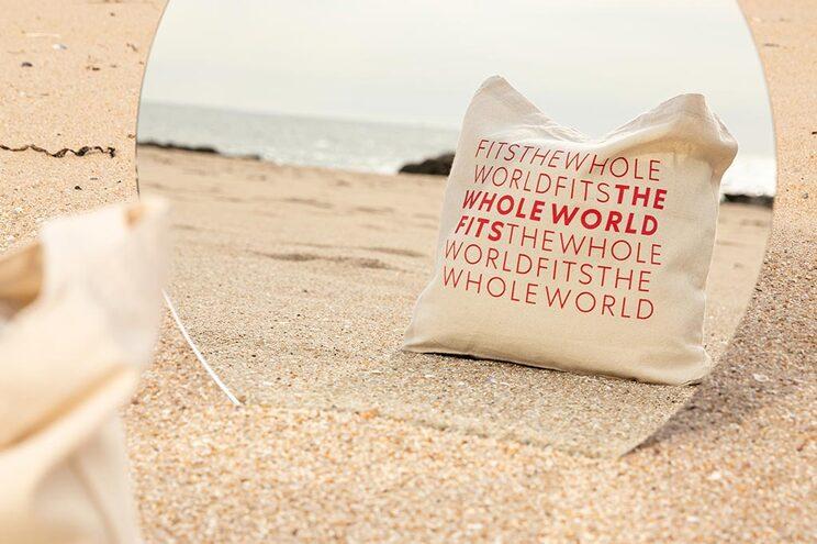 Um saco de algodão para um futuro melhor