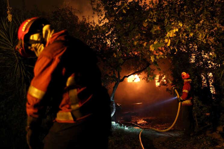 Dominado incêndio em Pampilhosa da Serra