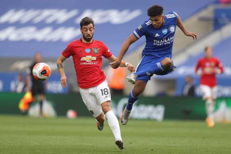 Português Bruno Fernandes foi o jogador do mês de julho
