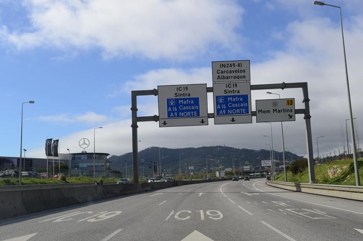 IC 19faz a ligação entre Lisboa e Sintra