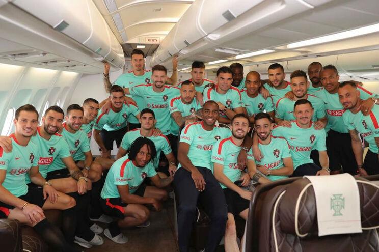 Seleção Nacional de Futebol já chegou à Rússia