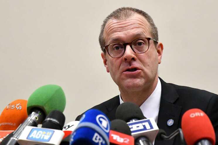 Hans Kluge, diretor regional da OMS