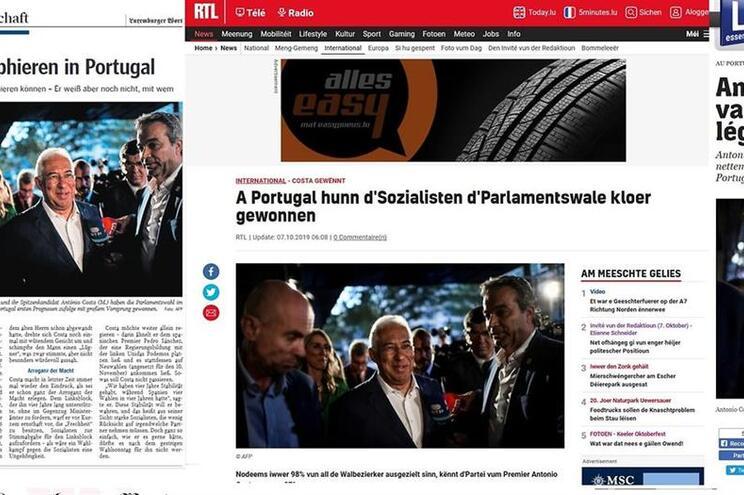 Imprensa luxemburguesa destaca vitória do partido socialista em Portugal
