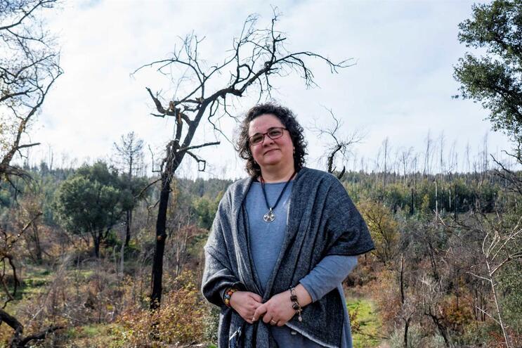 Dina Duarte, presidente da Associação de Vítimas dos Incêndios de Pedrógão Grande