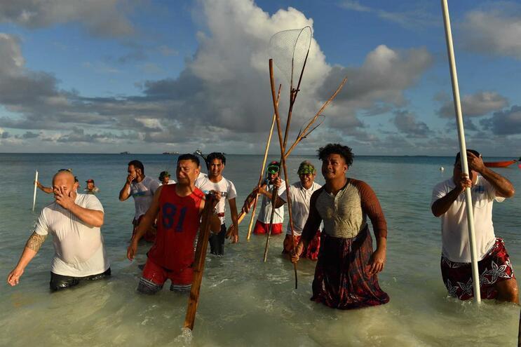 Arquipélago de Tuvalu é um das regiões do planeta mais ameaçadas pela subida das águas
