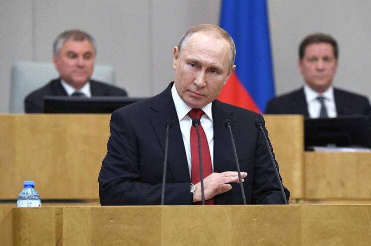 Vladimir Putin , presidente da Rússia