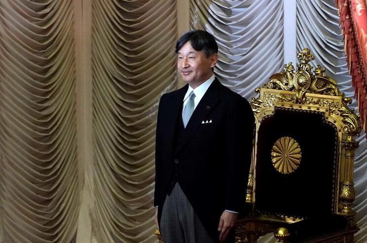 Naruhito, 59 anos, é o atual Imperador do Japão