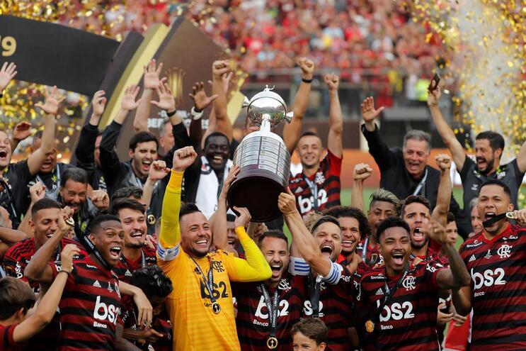 O Flamengo, de Jorge Jesus e campeão em título, lidera o Grupo A