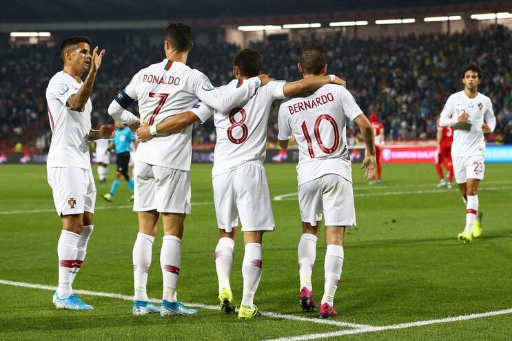 Portugal defronta Lituânia com três novidades no onze
