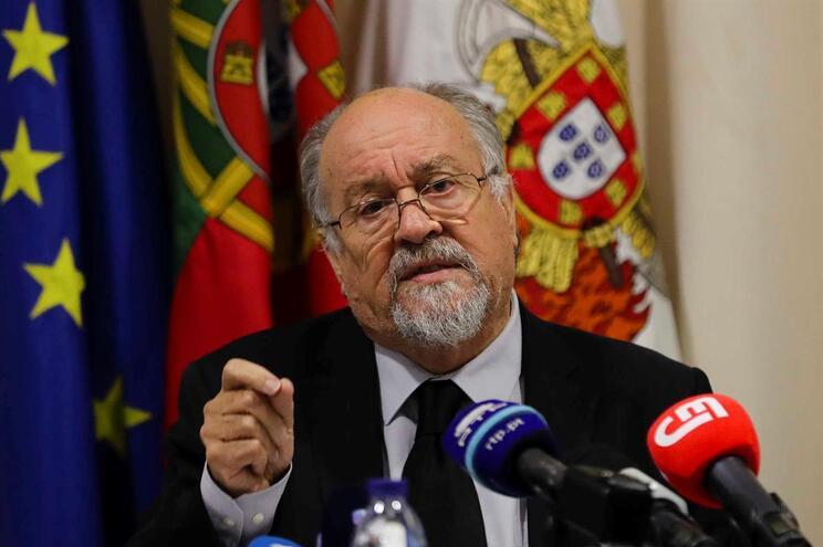 Presidente da Liga dos Bombeiros Portugueses, Jaime Marta Soares