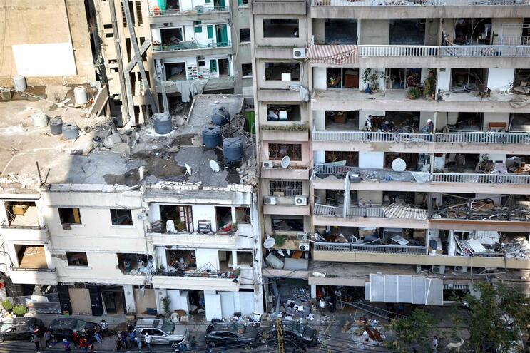 Número de mortos em Beirute sobe para 154