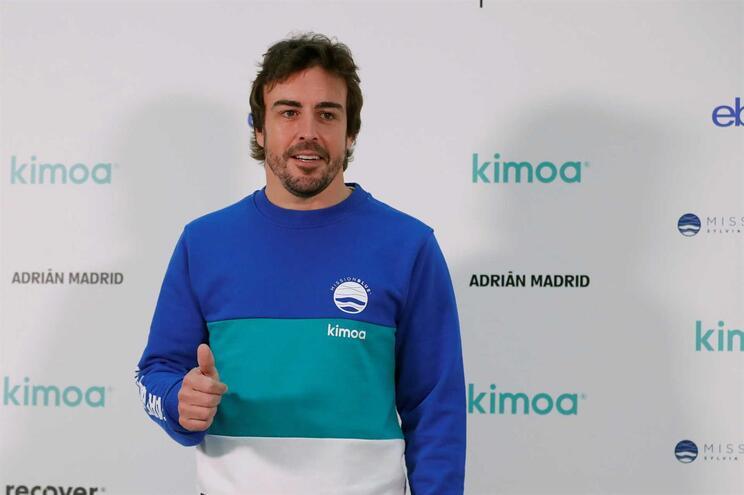 Piloto espanhol Fernando Alonso
