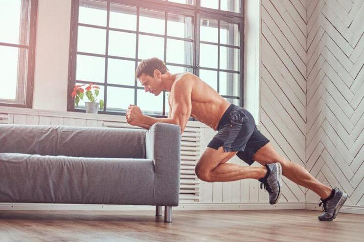 Ganhe músculos antes de ir lavar os dentes
