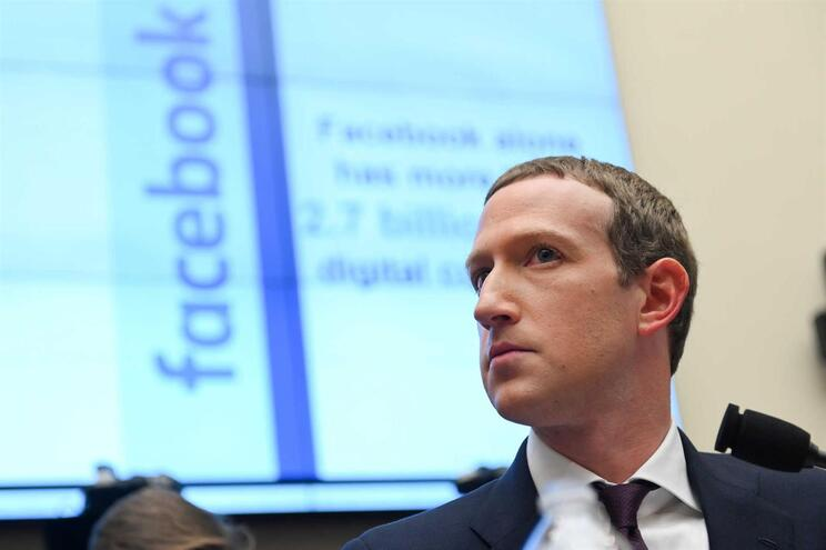 O CEO do Facebook, Mark Zuckerberg