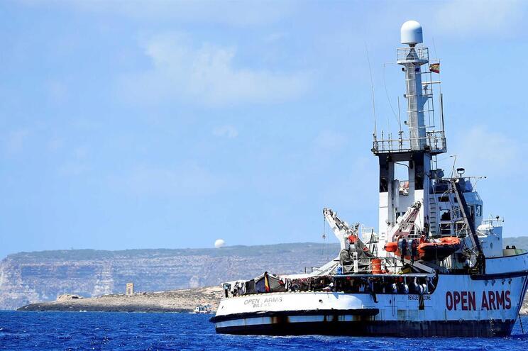 """Espanha propõe receber """"Open Arms"""" em Algeciras"""