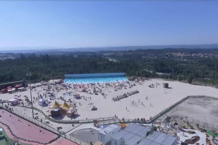 Este verão, a capacidade da praia de Mangualde situa-se em cerca de 600 pessoas