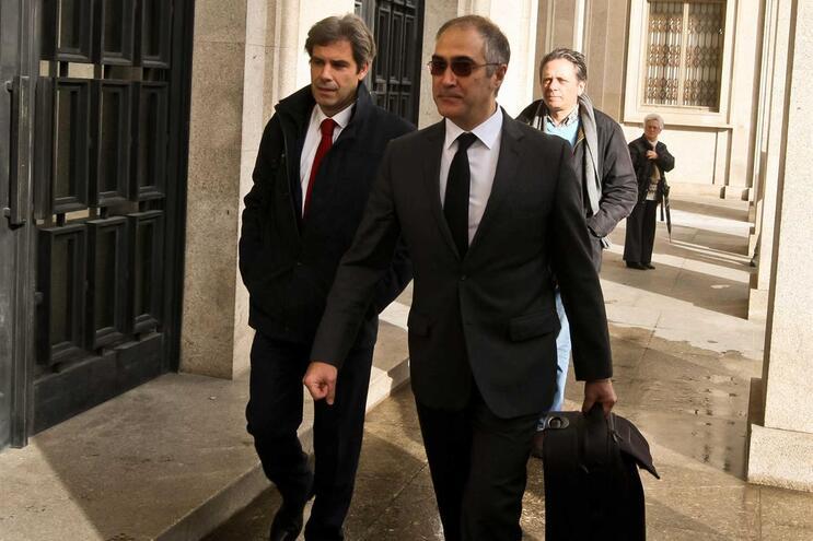 Gonçalo Malheiro e Armando Martins Ferreira, advogados do Benfica