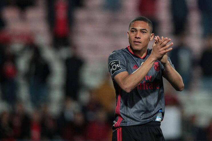 Vinícius marcou o 15.º golo no campeonato