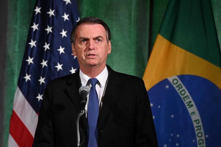 Jair Bolsonaro está em visita oficial aos EUA