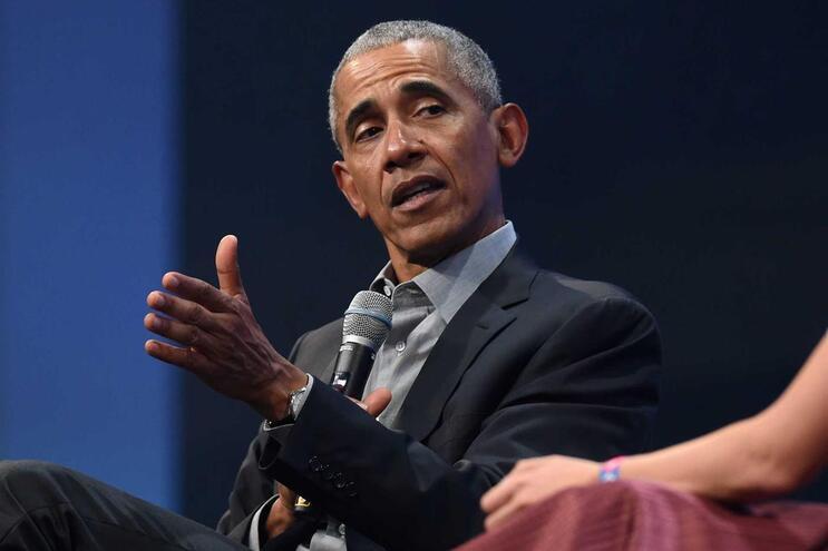 Barack Obama, antigo presidente dos Estados Unidos da América