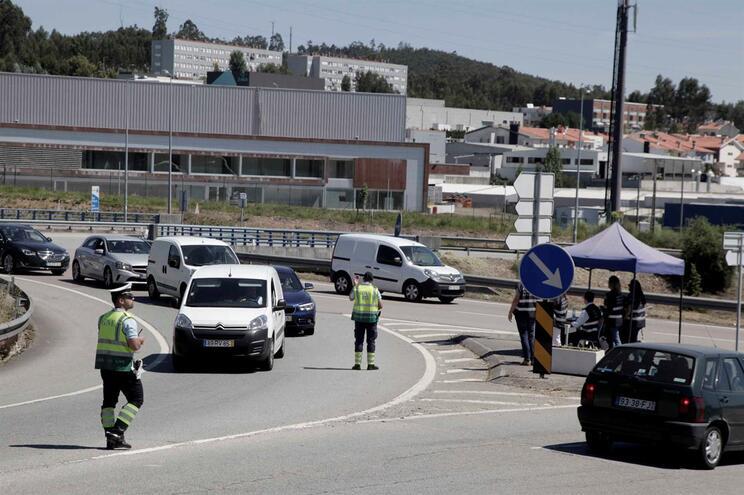 """""""Ação sobre rodas"""" foi uma operação que envolveu inspetores tributários e GNR"""