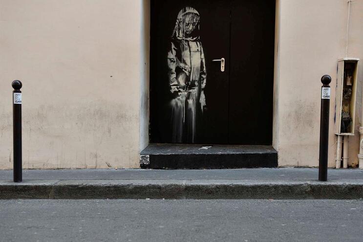Obra foi roubada da sala de espetáculos Le Bataclan, Paris