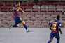 Messi marcou frente ao Nápoles